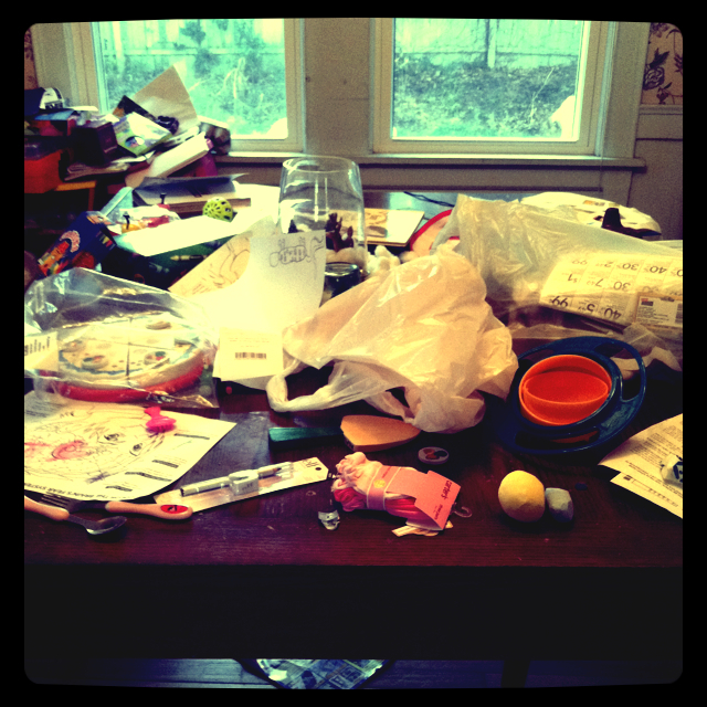 Messy Dining Room: Daily Fun