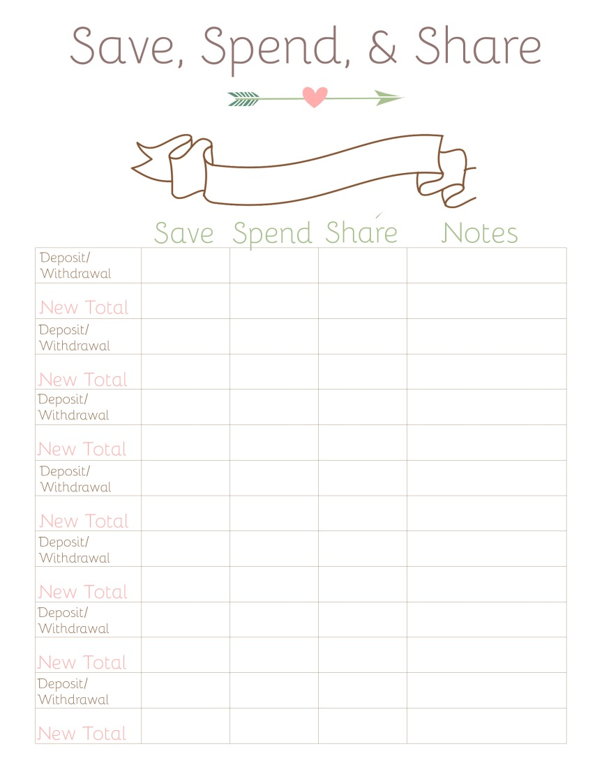 Allowance Sheet blank